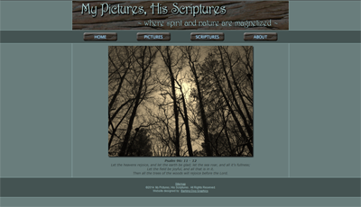My Pictures His Scriptures